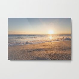 Sunspot in the Sand Metal Print