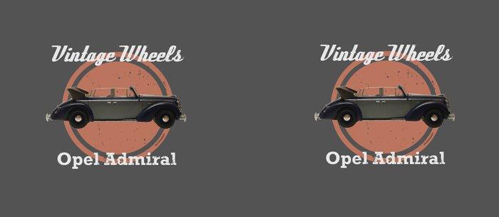 Vintage Wheels: Opel Admiral Coffee Mug