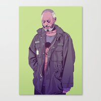 90s Canvas Prints featuring 80/90s  - DS by Mike Wrobel