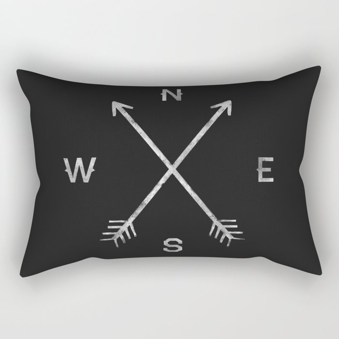 Compass Rectangular Pillow