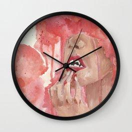 Fangs Wall Clock