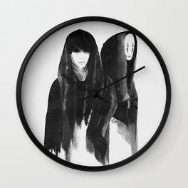 kaonashi (no face) Wall Clock