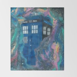 Doctor Who - Tardis Throw Blanket