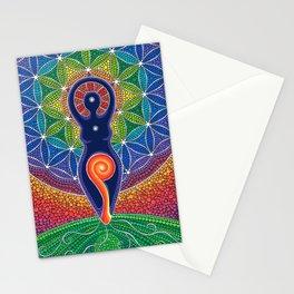 Goddess of the World Stationery Cards