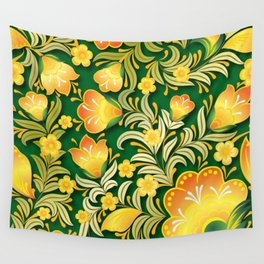 Art Flowers Wall Tapestry