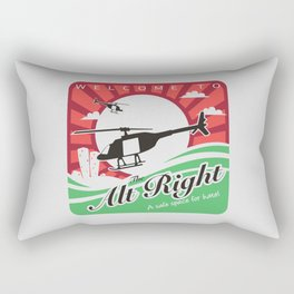 Welcome to the Alt Right Rectangular Pillow
