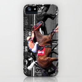 Race horses iPhone Case