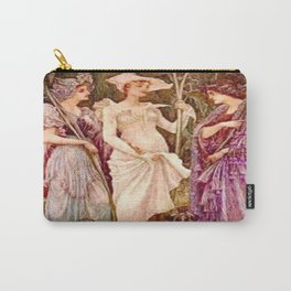 """""""Vestiges of Spring"""" by Gustave Moreau (1885) Carry-All Pouch"""