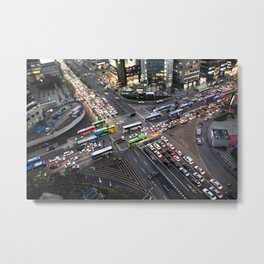 Gangnam at Rush Hour Metal Print