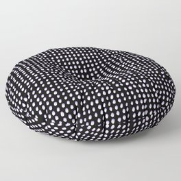 Dots (Shadowed) - White x Lavender Floor Pillow