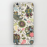 woodland iPhone & iPod Skins featuring Woodland by Sarah Doherty