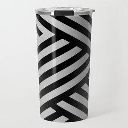 Interrupted lines Travel Mug