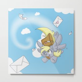 The Ditzy Mailmare Metal Print