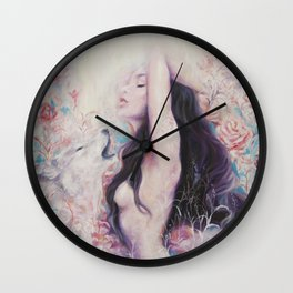 Lightbeams | Rise Wall Clock