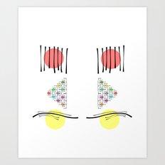 O100 Art Print