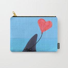Original Shark Love Design Carry-All Pouch