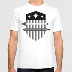 To Arms White Mens Fitted Tee SMALL