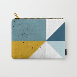 Modern Geometric 17 Carry-All Pouch