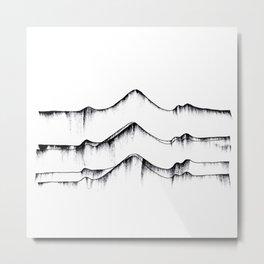 fizzing lines III Metal Print