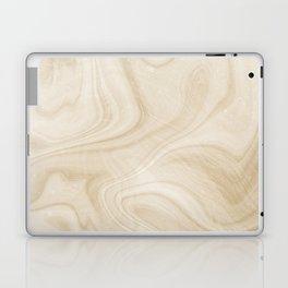 Gold Swirl Marble Laptop & iPad Skin