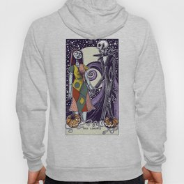 The Nightmare Before Christmas The Lovers Tarot Card Color Hoody