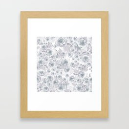 Bed of Roses Framed Art Print