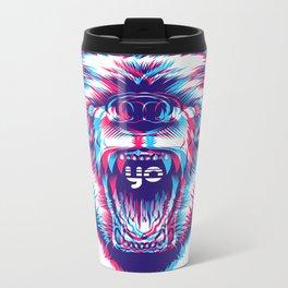 yo bear Metal Travel Mug