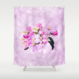Sweet Pink Dreams Shower Curtain