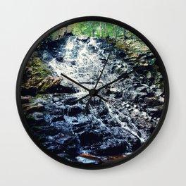 Mosher Hill Falls Wall Clock