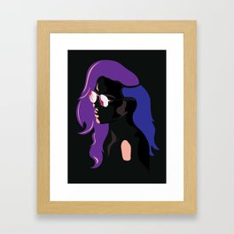 Looking at the Lights Framed Art Print