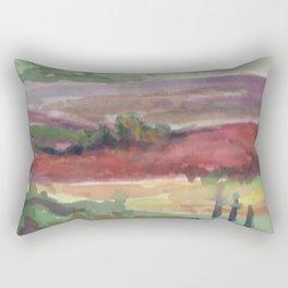 Fields of Sarlat Rectangular Pillow