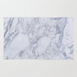 White Marble Texture Floor Background With Gray Grey Greek Print Luxuous Real Rug