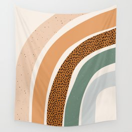 Patterned Rainbow Wall Tapestry
