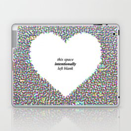 This Space Intentionally Left Blank Laptop & iPad Skin