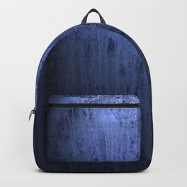Old blue window at night Backpack