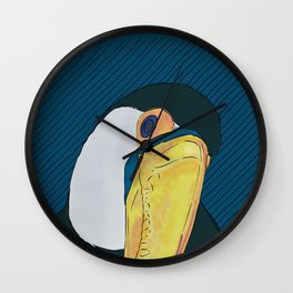 FEATHER FEST - TOUCAN Wall Clock