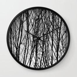 Wood Work Wall Clock