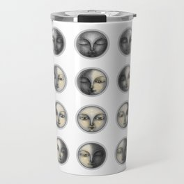 moon phases and romanticism Travel Mug