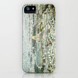 Golden Paris iPhone Case