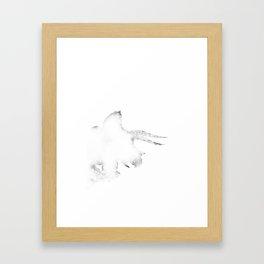 Triceratops Framed Art Print