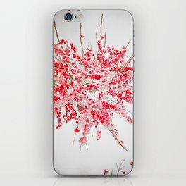 Frozen red iPhone Skin