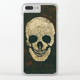 JT Skull Clear iPhone Case