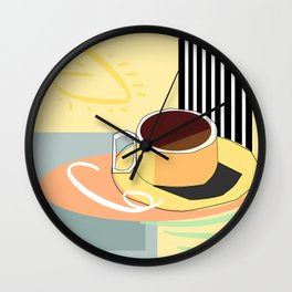 Breakfast I Wall Clock