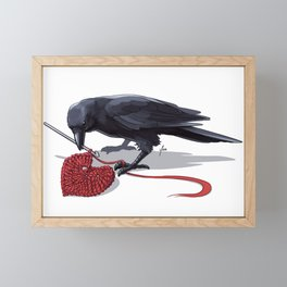 Crowchet Framed Mini Art Print