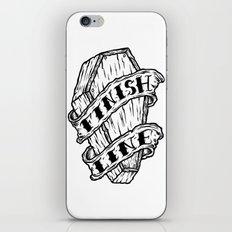 Finish Line. iPhone & iPod Skin