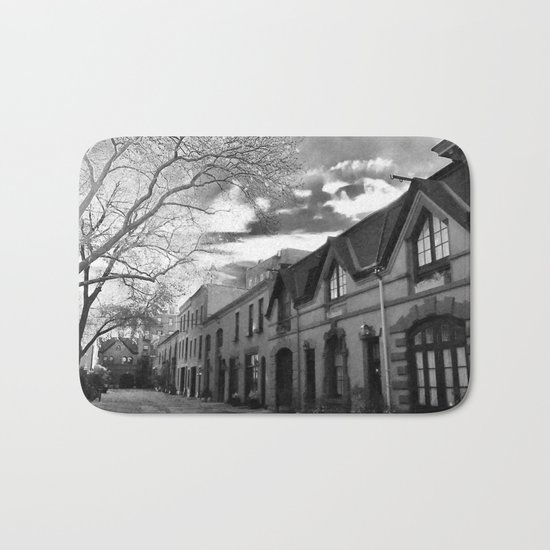 STOP For Brooklyn Heights Brownstone Love NYC Bath Mat