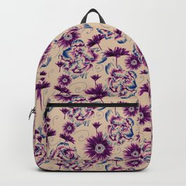 Extra flowers field Backpack