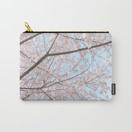 Vintage pink tree Carry-All Pouch