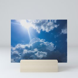 Lost in the Clouds Mini Art Print