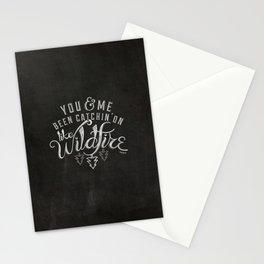 LYRICS - Wildfire Stationery Cards